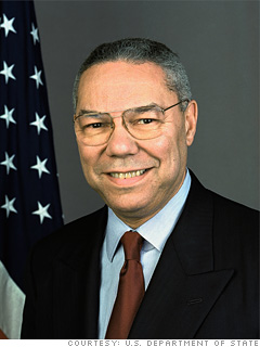Colin Powell: Focus on performance, not power