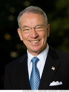Grassley to AIG execs: 'Commit suicide'