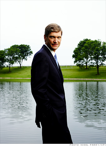 Erik Fyrwald, CEO of Nalco