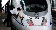 All aboard China's new bullet train