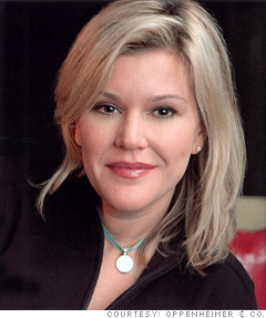Meredith Whitney,  Financial analyst