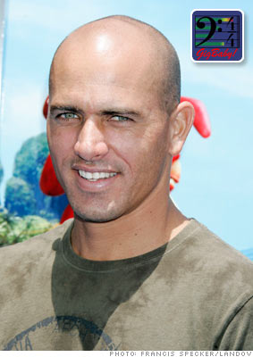 Kelly Slater, Professional surfer
