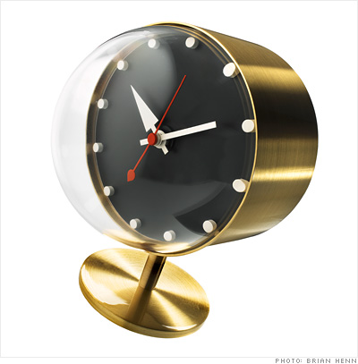 The Workaholic: Desk clock