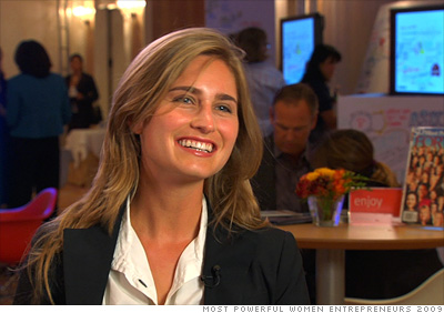 Lauren Bush and Ellen Gustafson