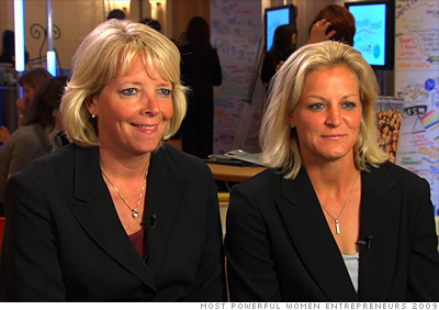 Susan Walvius and Michelle Marciniak