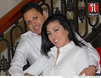 Veronica Gonzales and Daniel Olivo
