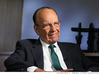 8. Rupert Murdoch, CEO of News Corp.