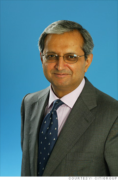 5. Vikram Pandit, CEO of Citigroup