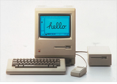 First Macintosh - 1984