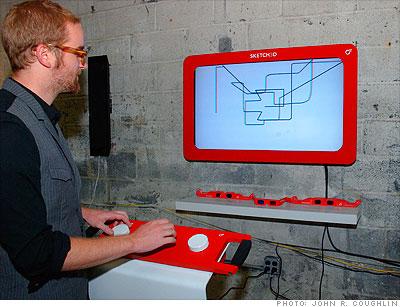 3-D Etch-a-Sketch - 2009