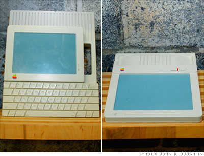 Apple touchscreen and tablet prototypes - 1980s