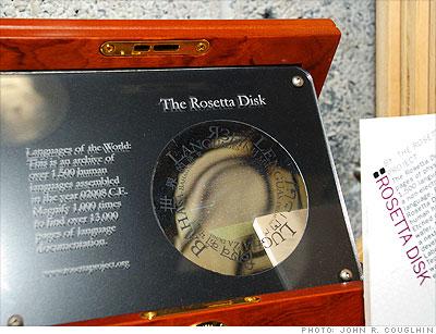 Rosetta Disk - 2009