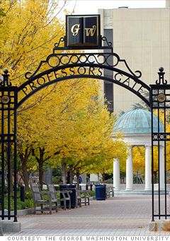 4. George Washington University