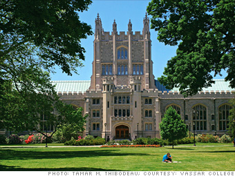 10 (tie). Vassar College*