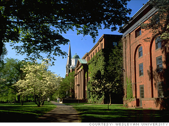 7. Wesleyan University
