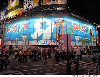 Toys R Us opened at midnight on Thanksgiving