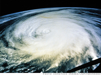 Hurricane-killing wave pump