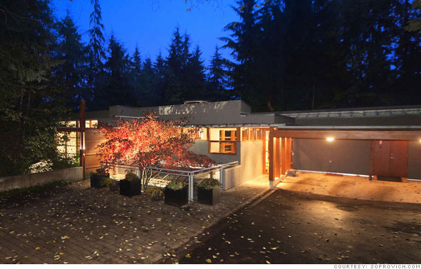 The Cullen House & Buy Edward Cullen\u0027s Twilight house - The Cullen House (1) - CNNMoney.com