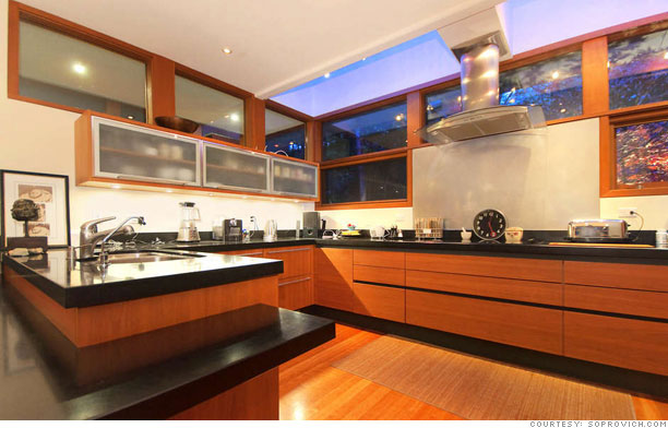 Buy edward cullen 39 s twilight house kitchen 4 for Edward cullen house