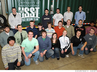 University of Saskatchewan Space Design Team