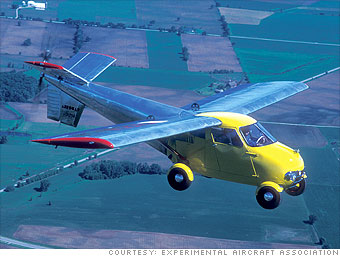 The pioneering Aerocar