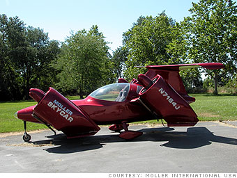 Moller's M400 Skycar
