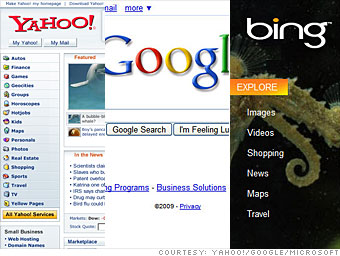 Google and Yahoo, meet Bing