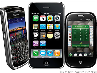 BlackBerrys, and iPhones and Pres, oh my!