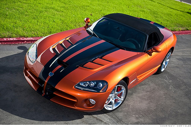Dodge Viper in Toxic Orange