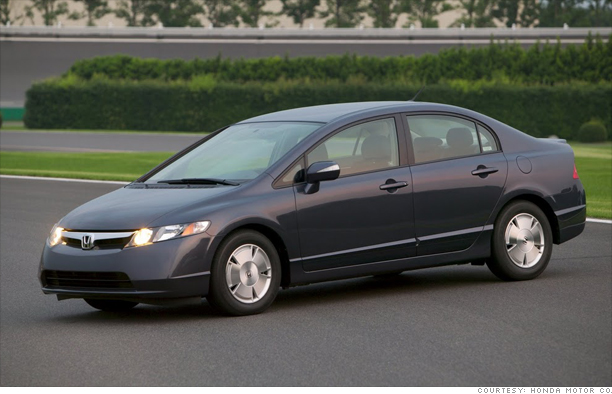 Honda Civic Hybrid 2010. Honda Civic Hybrid