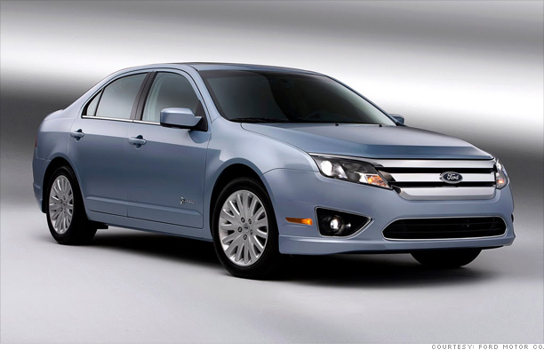 Ford Fusion/Mercury Milan  Hybrids
