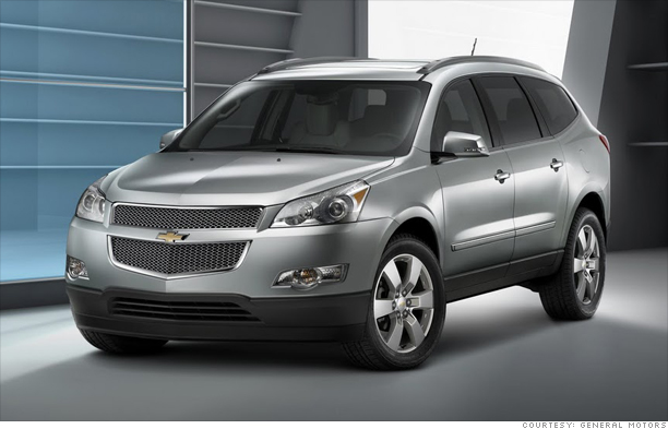 Family SUV: Chevrolet Traverse