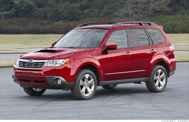 Small SUV: Subaru Forester