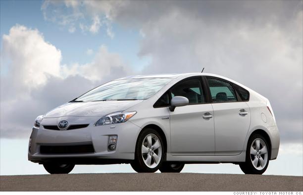 Green car: Toyota Prius