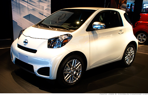 The Iq Will Become Smallest Car Sold In Toyota S Scion Line Of Compact Models Fact It World Four Seat Says