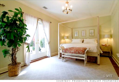 Own a condo in the Playboy Mansion - Bedroom (4) - CNNMoney.com