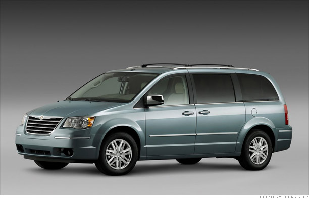 Rolling with kids - Chrysler Town & Country