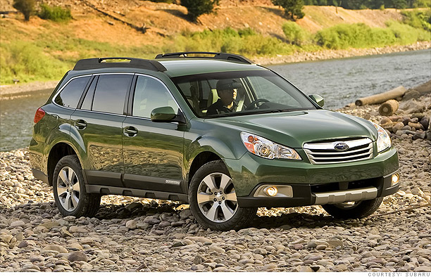 Small and versatile - Subaru Outback
