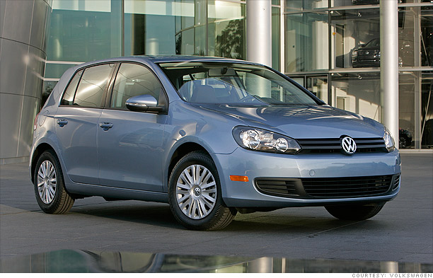 Pass the pumps - VW Golf TDI