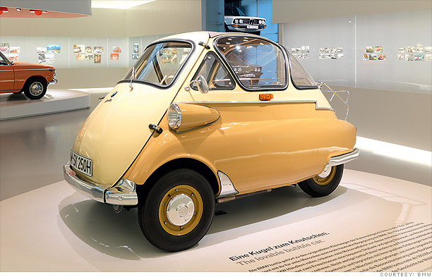 Cars: Flops then, collectible now - BMW Isetta (1955-62) (3 ...