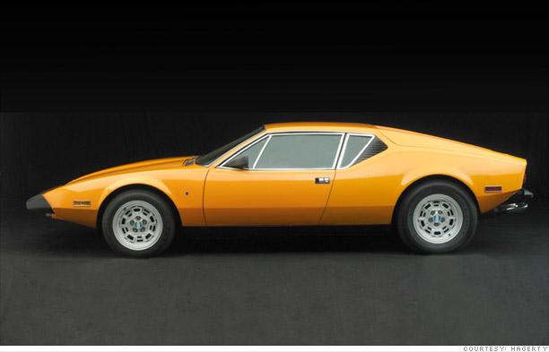 Cars Flops then collectible now  De Tomaso Pantera sold through