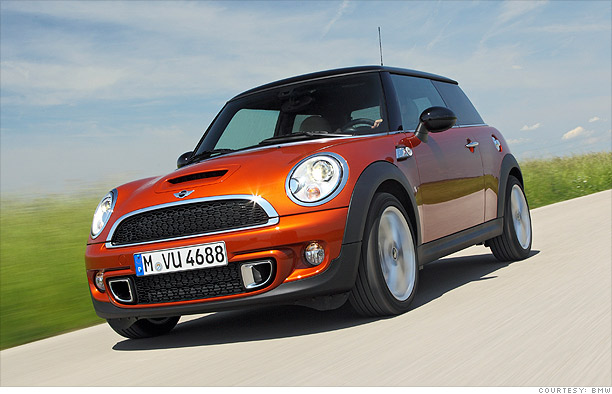 Alternatives To The Mini Cooper Mini Cooper CNNMoneycom - Cool cars and prices