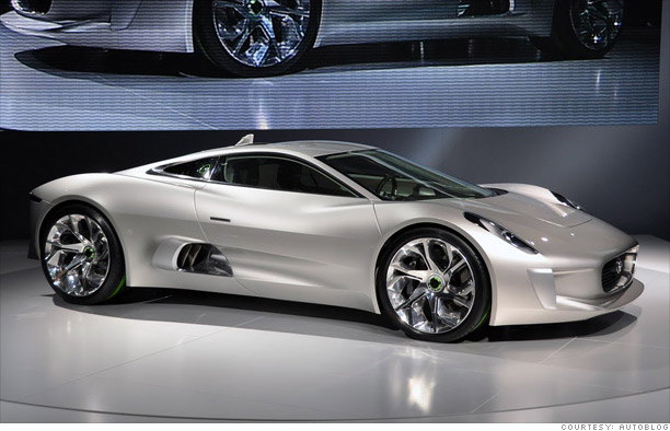 Coolest Cars From The Paris Motor Show Jaguar C X75