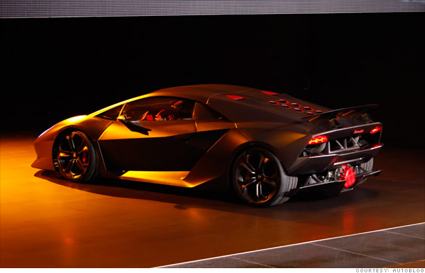Coolest Cars From The Paris Motor Show Lamborghini Sesto - Cool lamborghini cars