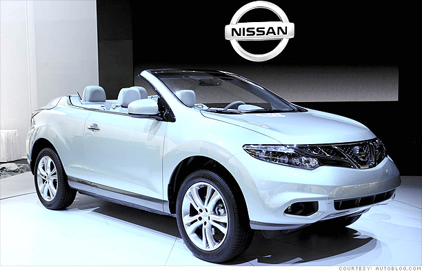 Cool cars from the L.A. Auto Show - Nissan Murano ...