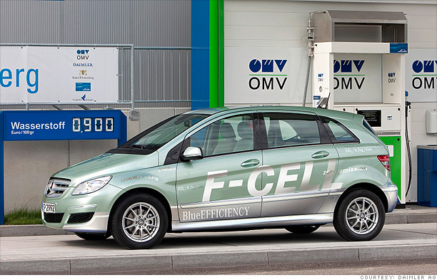 Mercedes-Benz B-class F-CELL