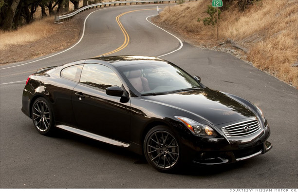 today 39 s new cars tomorrow 39 s collectibles 2011 infiniti. Black Bedroom Furniture Sets. Home Design Ideas
