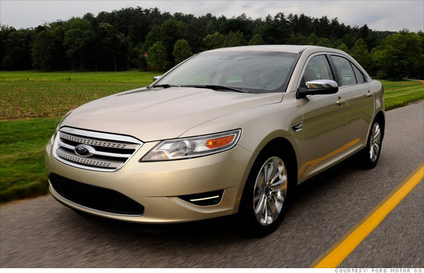 Large car: Ford Taurus