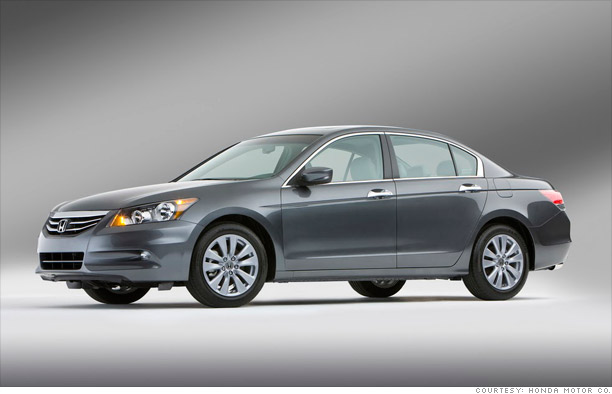 Mid-size car: Honda Accord