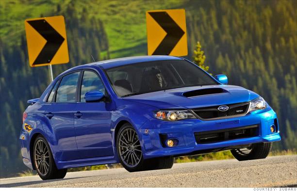 Sports car: Subaru Impreza WRX